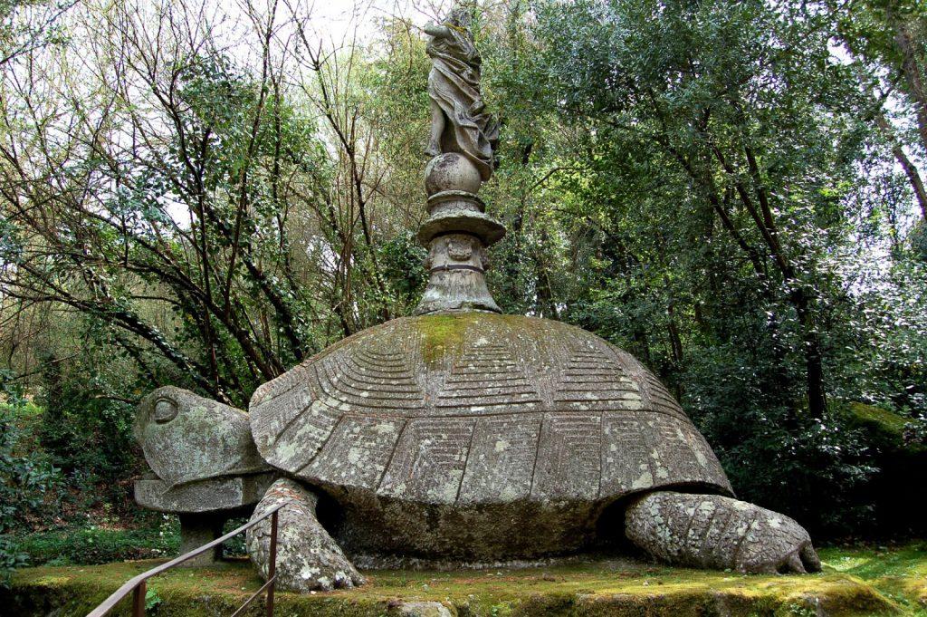 El Sacro Bosco de Bomarzo parque de los monstruos 6