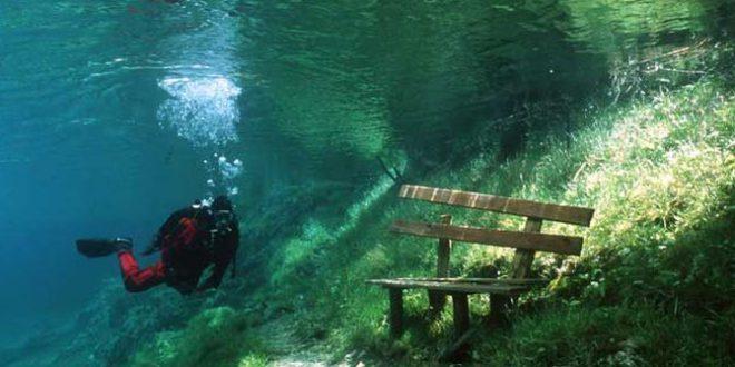 Паркът, който се превръща в езеро